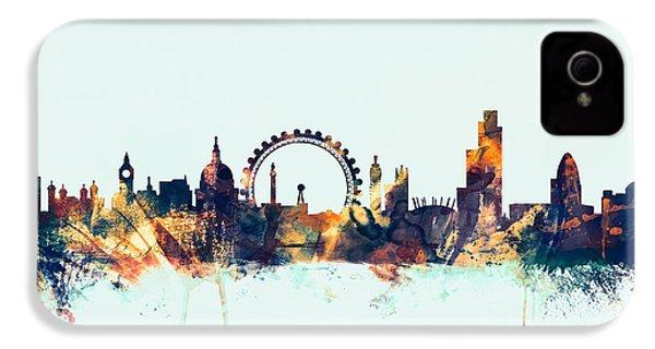 London England Skyline IPhone 4 Case