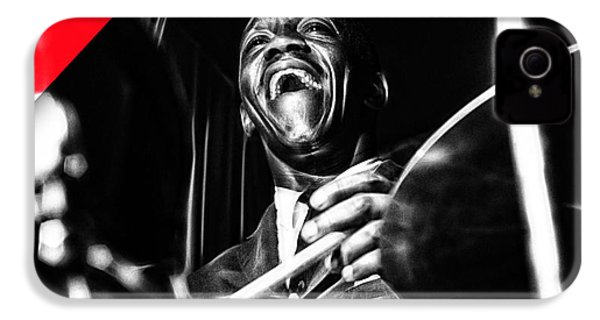 Art Blakey Collection IPhone 4 / 4s Case by Marvin Blaine
