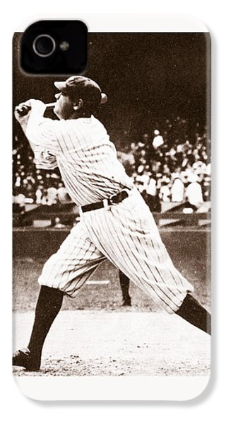 Babe Ruth IPhone 4 Case by American School