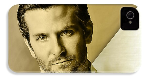 Bradley Cooper Collection IPhone 4 / 4s Case by Marvin Blaine