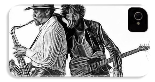 Bruce Springsteen Clarence Clemons Collection IPhone 4 Case