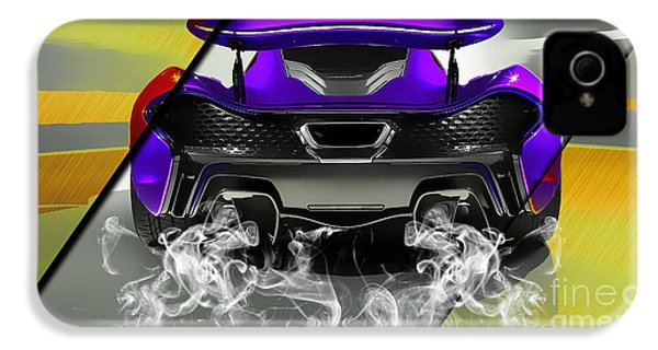 Mclaren P1 Collection IPhone 4 Case by Marvin Blaine