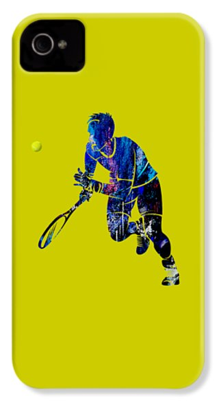 Mens Tennis Collection IPhone 4 Case by Marvin Blaine