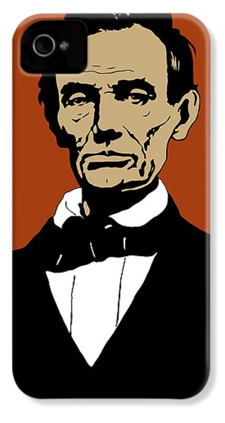 President Lincoln IPhone 4 Case by War Is Hell Store