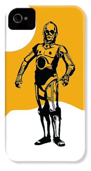 Star Wars C-3po Collection IPhone 4 / 4s Case by Marvin Blaine