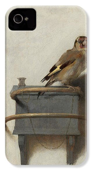 The Goldfinch IPhone 4 Case