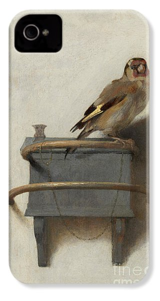 The Goldfinch IPhone 4 Case by Carel Fabritius