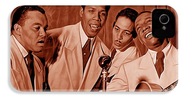 The Ink Spots Collection IPhone 4 Case by Marvin Blaine