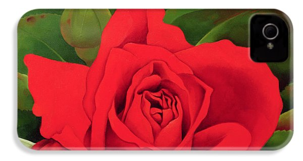 The Rose IPhone 4 Case by Myung-Bo Sim