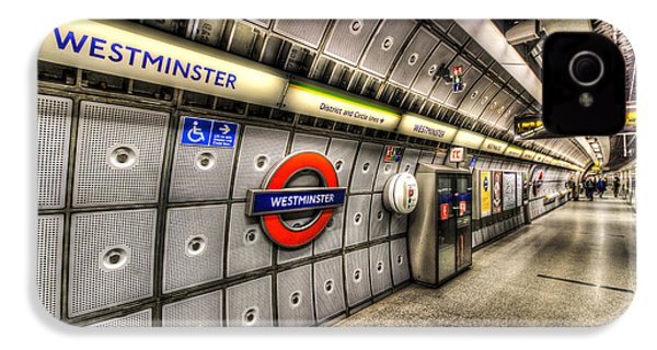 Underground London IPhone 4 Case by David Pyatt