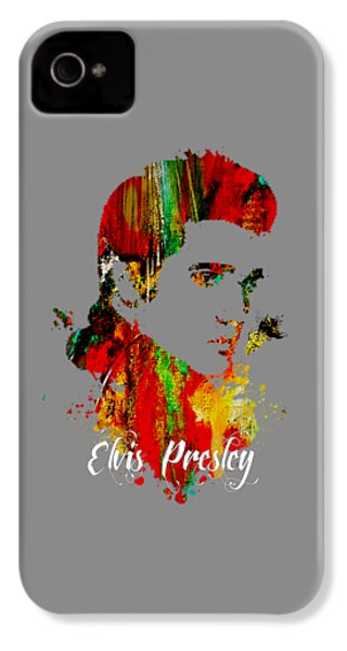 Elvis Presley Collection IPhone 4 / 4s Case by Marvin Blaine