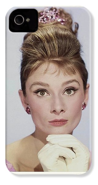 Audrey Hepburn IPhone 4 Case by John Springfield
