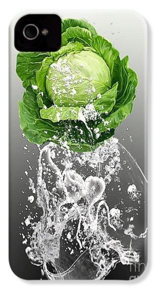 Cabbage Splash IPhone 4 / 4s Case by Marvin Blaine
