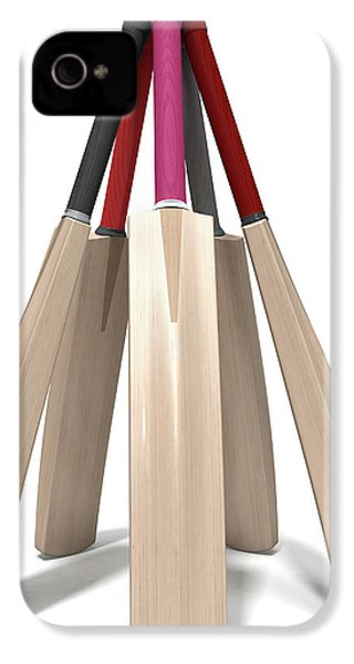 Cricket Bat Circle IPhone 4 Case