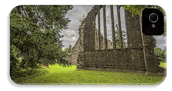 Inchmahome Priory IPhone 4 Case by Jeremy Lavender Photography
