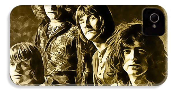 Led Zeppelin Collection IPhone 4 / 4s Case by Marvin Blaine