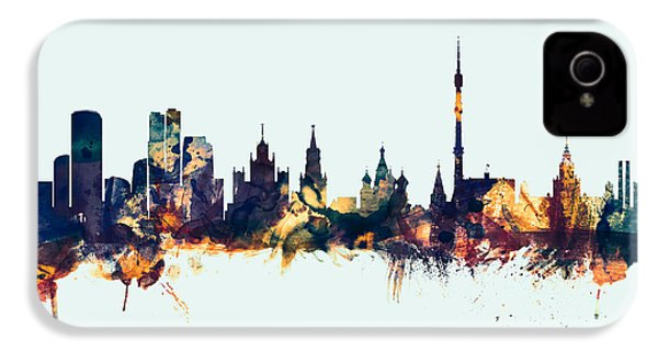 Moscow Russia Skyline IPhone 4 Case