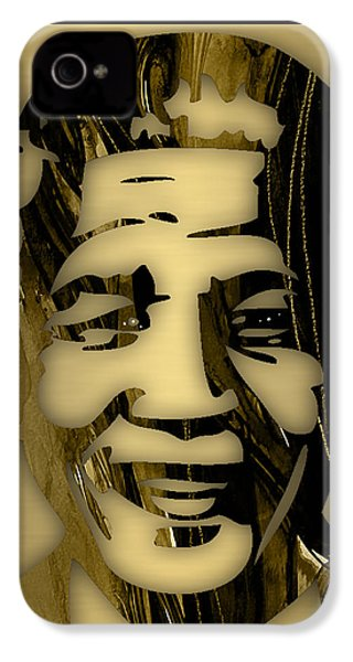 Nelson Mandela Collection IPhone 4 Case by Marvin Blaine