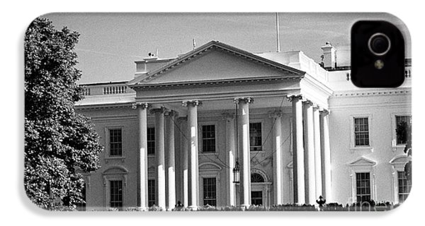 northern facade of the white house Washington DC USA IPhone 4 Case