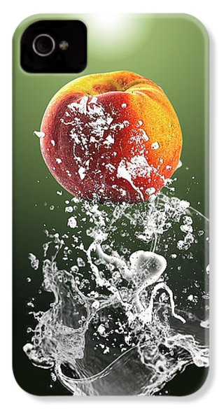 Peach Splash IPhone 4 Case