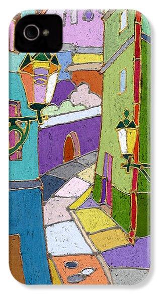 Prague Old Street IPhone 4 / 4s Case by Yuriy  Shevchuk