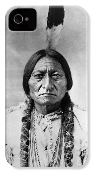 Sitting Bull (1834-1890) IPhone 4 / 4s Case by Granger