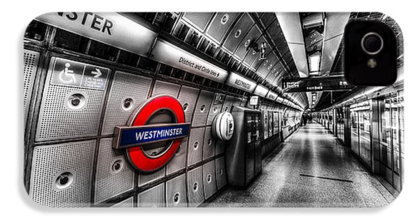 Underground London IPhone 4 / 4s Case by David Pyatt