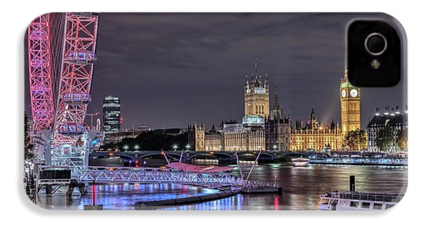 Westminster - London IPhone 4 Case by Joana Kruse
