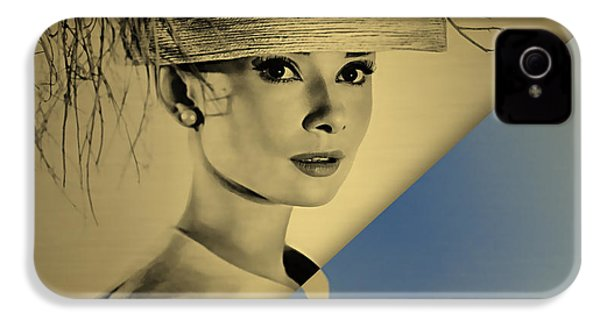 Audrey Hepburn Collection IPhone 4 / 4s Case by Marvin Blaine