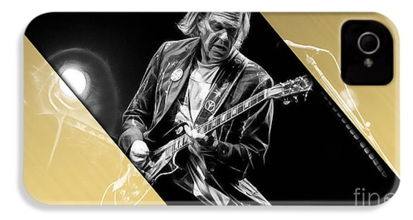 Neil Young Collection IPhone 4 / 4s Case by Marvin Blaine