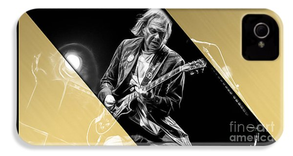 Neil Young Collection IPhone 4 Case