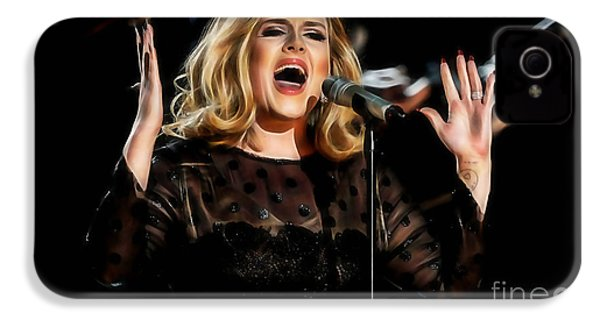 Adele Collection IPhone 4 Case
