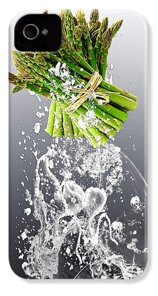 Asparagus Splash IPhone 4 Case