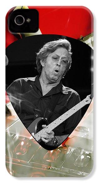 Eric Clapton Art IPhone 4 / 4s Case by Marvin Blaine