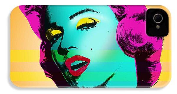 Marilyn Monroe IPhone 4 Case by Mark Ashkenazi
