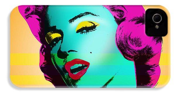 Marilyn Monroe IPhone 4 / 4s Case by Mark Ashkenazi