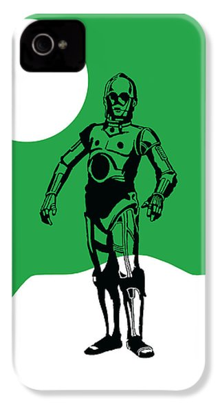 Star Wars C-3po Collection IPhone 4 Case by Marvin Blaine