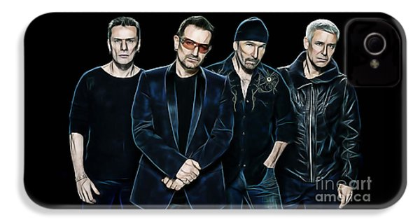 U2 Collection IPhone 4 Case by Marvin Blaine