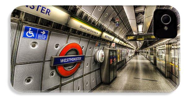 Underground London IPhone 4 Case by David Pyatt