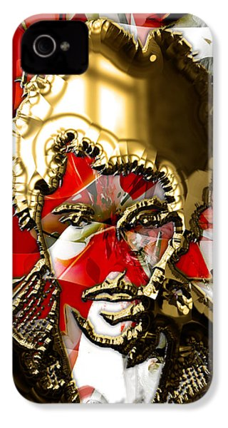 Bruce Springsteen Collection IPhone 4 Case by Marvin Blaine