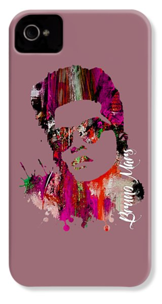 Bruno Mars Collection IPhone 4 Case by Marvin Blaine