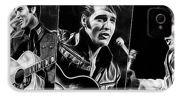 Elvis IPhone 4 Case by Marvin Blaine