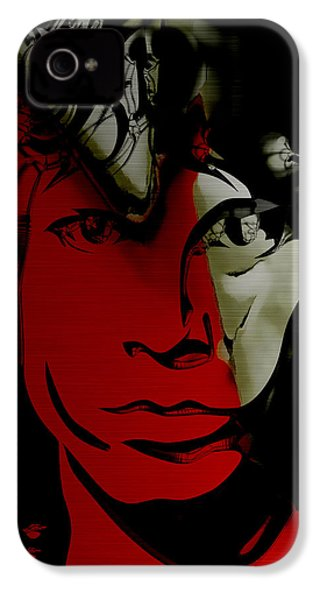 Jim Morrison The Doors Collection IPhone 4 / 4s Case by Marvin Blaine