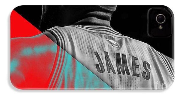 Lebron James Collection IPhone 4 / 4s Case by Marvin Blaine