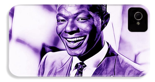Nat King Cole Collection IPhone 4 / 4s Case by Marvin Blaine