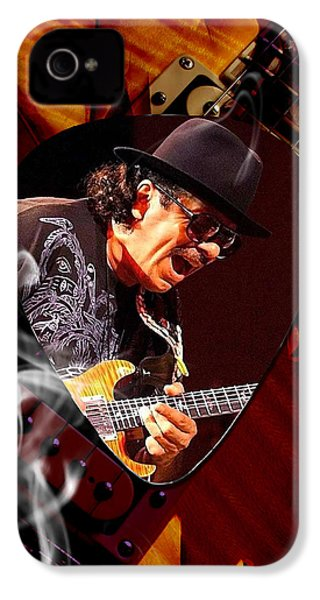 Santana Art IPhone 4 / 4s Case by Marvin Blaine