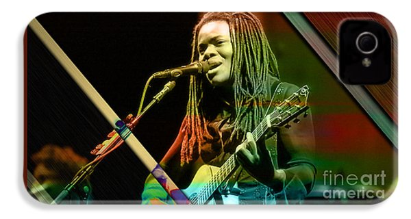 Tracy Chapman Collection IPhone 4 Case by Marvin Blaine