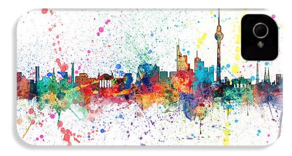 Berlin Germany Skyline IPhone 4 Case