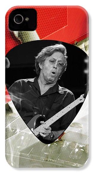 Eric Clapton Art IPhone 4 Case by Marvin Blaine
