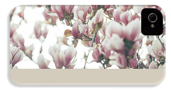 Magnolia IPhone 4 Case by Jelena Jovanovic